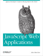 Cover image for JavaScript Web Applications