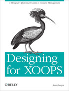 Cover image for Designing for XOOPS