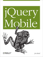 Cover image for jQuery Mobile