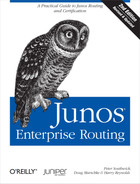 Cover of Junos Enterprise Routing, 2nd Edition