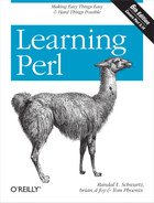 Cover image for Learning Perl, 6th Edition