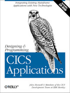 Cover image for Designing and Programming CICS Applications