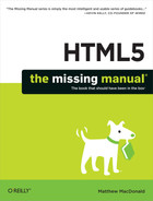 HTML5: The Missing Manual