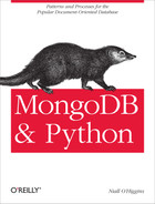 Cover image for MongoDB and Python