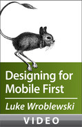Cover image for Luke Wroblewski on Designing for Mobile First