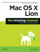 Cover image for Mac OS X Lion: The Missing Manual