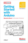 Cover of Getting Started with Arduino, 2nd Edition