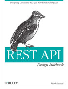 Cover of REST API Design Rulebook