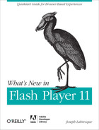 Cover image for What's New in Flash Player 11