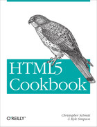 Cover image for HTML5 Cookbook