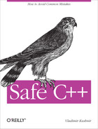 Cover image for Safe C++