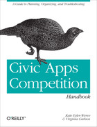 Cover image for Civic Apps Competition Handbook