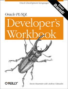 Cover image for Oracle PL/SQL Programming: A Developer's Workbook