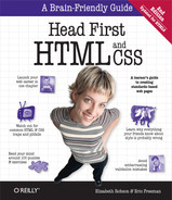 Cover of Head First HTML and CSS, 2nd Edition