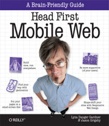 Cover image for Head First Mobile Web