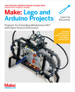 Cover of Make: Lego and Arduino Projects