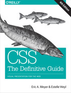 Cover of CSS: The Definitive Guide, 4th Edition