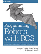 Cover of Programming Robots with ROS