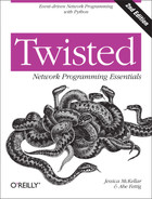 Cover of Twisted Network Programming Essentials, 2nd Edition