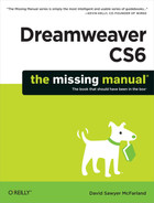 Cover image for Dreamweaver CS6: The Missing Manual