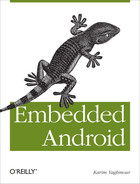 Cover of Embedded Android