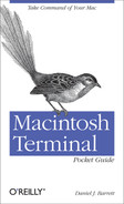 Cover of Macintosh Terminal Pocket Guide