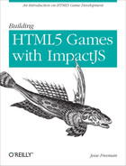 Cover image for Building HTML5 Games with ImpactJS