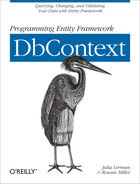 Cover of Programming Entity Framework: DbContext