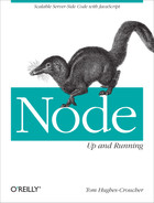 Cover of Node: Up and Running