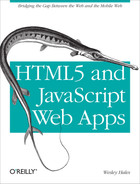 Cover of HTML5 and JavaScript Web Apps