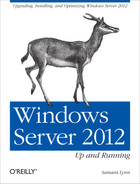Cover image for Windows Server 2012: Up and Running