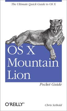 OS X Mountain Lion Pocket Guide
