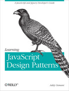 Cover of Learning JavaScript Design Patterns