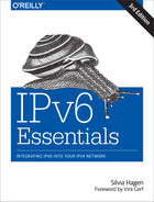 Cover image for IPv6 Essentials, 3rd Edition