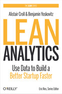 Book cover for Lean Analytics