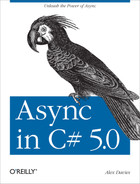 Cover of Async in C# 5.0