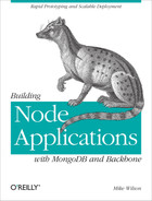 Cover image for Building Node Applications with MongoDB and Backbone
