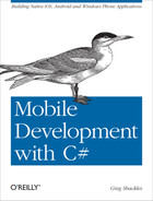 Cover image for Mobile Development with C#