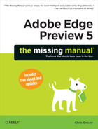 Cover image for Adobe Edge Preview 5: The Missing Manual