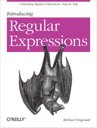 Cover image for Introducing Regular Expressions