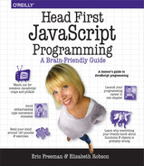 Cover of Head First JavaScript Programming