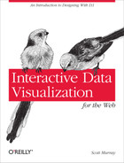 Cover image for Interactive Data Visualization for the Web