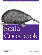Cover of Scala Cookbook