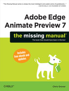 Cover image for Adobe Edge Animate Preview 7: The Missing Manual