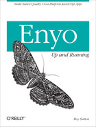 Cover image for Enyo: Up and Running