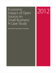 Economic Impact of Open Source on Small Business: A Case Study