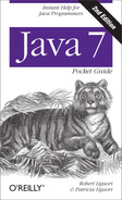 Cover image for Java 7 Pocket Guide, 2nd Edition
