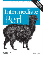 Cover image for Intermediate Perl, 2nd Edition