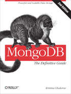 Cover of MongoDB: The Definitive Guide, 2nd Edition