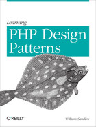 Cover of Learning PHP Design Patterns